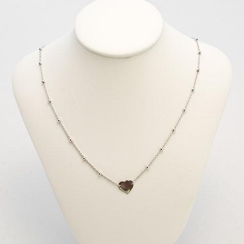 Collana girocollo rosario charm singolo