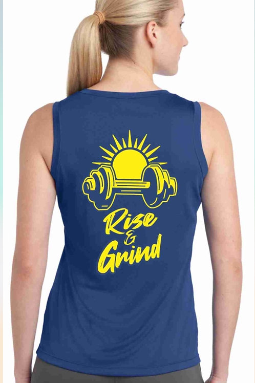 Rise and Grind Muscle Tank