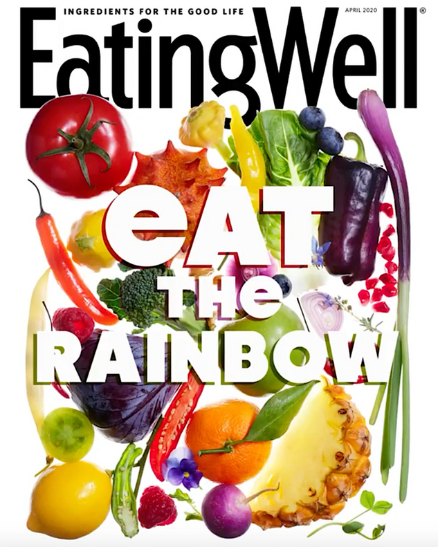 Eating Well Magazine Covers, April 2020