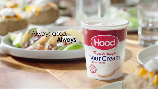 Hood Sour Cream Commercial