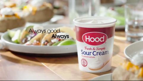 Hood Sour Cream Commercial