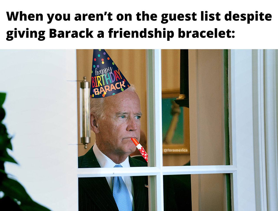 It's Barry's party and Joe can cry if he wants to.