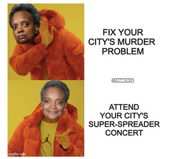 Haircuts and concerts. It's all about priorities for Chicago Mayor Lori Lightfoot.