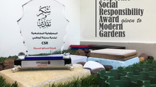 Corporate Social Responsibility Award given to Modern Gardens