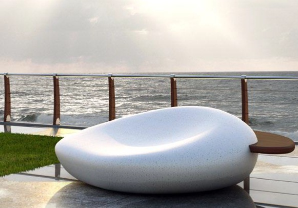 Bench Cloud - 1900 x 2150 x 760mm