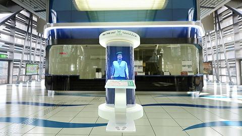 MT-Dubai Police-Holographic Police Booth