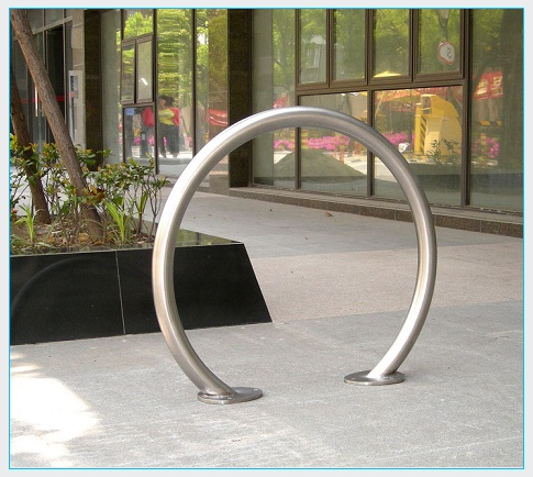 Stainless Steel Arc Bike Rack