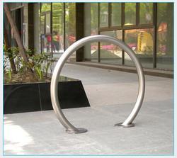 Stainless Steel Arc Bike Rack