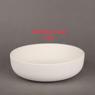 shallow cereal bowl