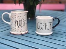 Paint your own pottery mug and mug set