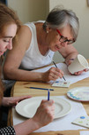 paint your own pottery at home