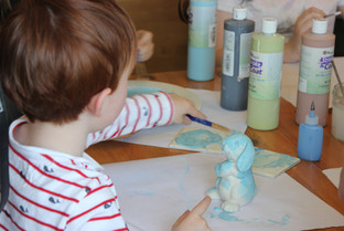 Easter paint your own pottery