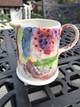 pottery painting - childs jug