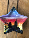 paint your own pottery star plate