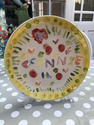 paint your own pottery plate