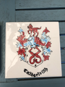 commissioned coat of arms tile