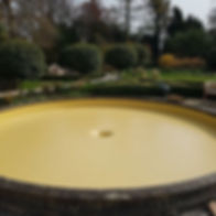 Water feature lining in Suffolk, working