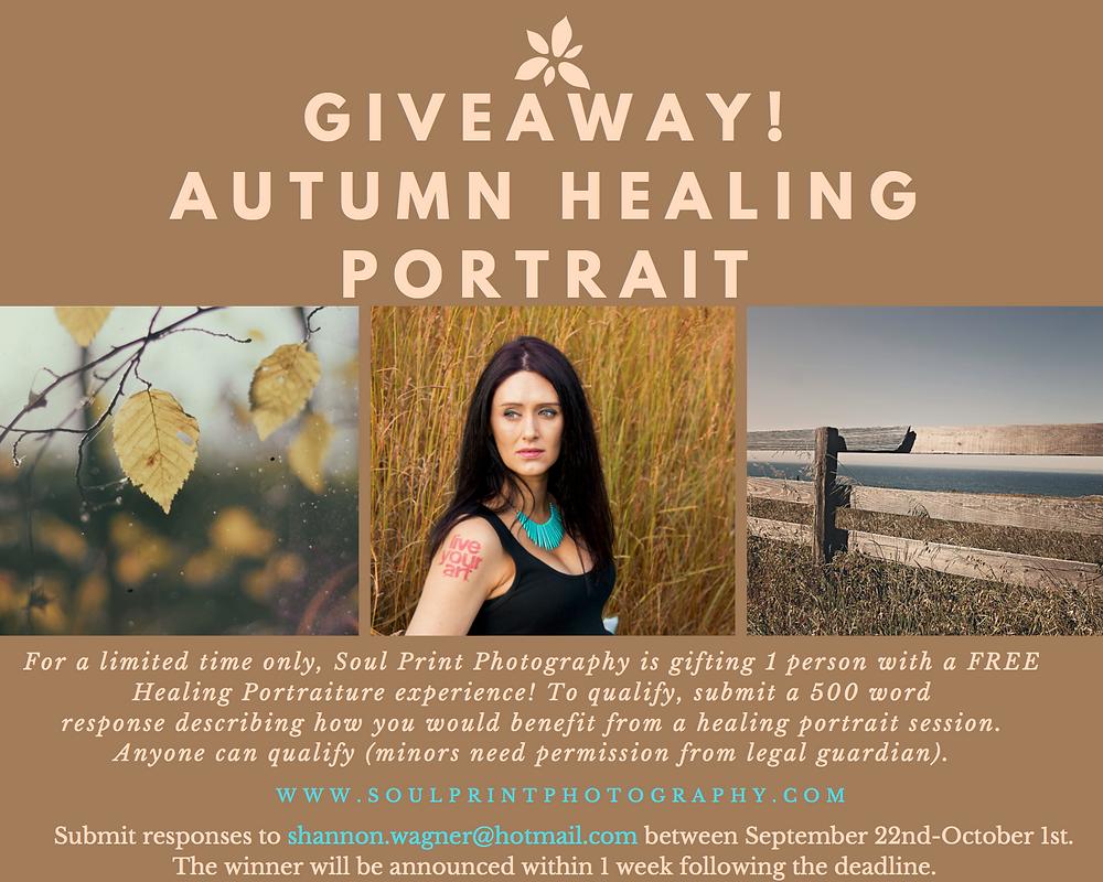 Healing Portrait Giveaway!