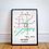 Thumbnail: Nottingham, Nottinghamshire | Underground Style Map