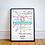 Thumbnail: Glasgow, Lanarkshire | Underground Style Map