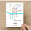 Thumbnail: Lincoln, Lincolnshire   Underground Style Map