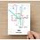 Thumbnail: York, North Yorkshire | Underground Style Map