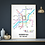 Thumbnail: Huddersfield, West Yorkshire   Underground Style Map
