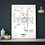 Thumbnail: Norwich, Norfolk | Underground Style Map