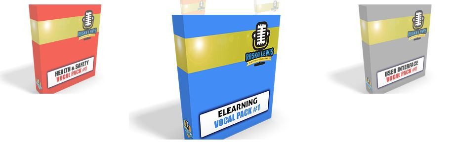 The eLearning Vocal Pack was the first on my list