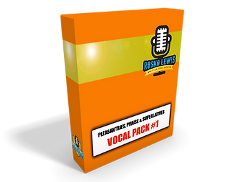 option, letters and numbers voice over vocal pack