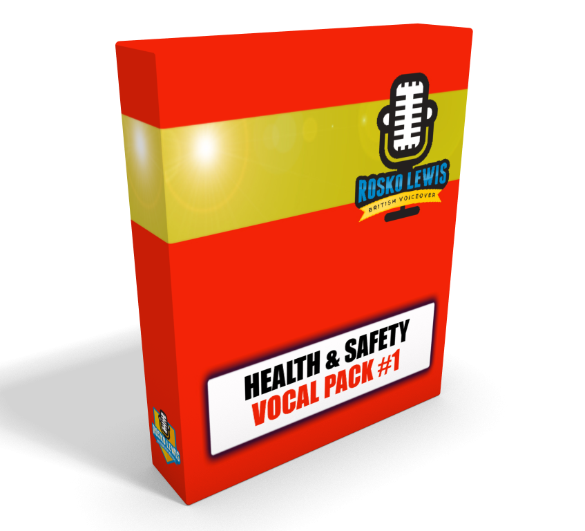 HEALTH AND SAFETY VOCAL PACK BOX 1 TRANSPARENT