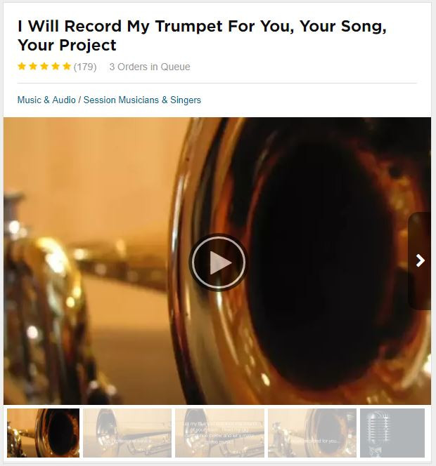 freelance trumpet player