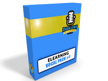 elearning LMS voice over vocal pack