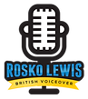 Rosko Lewis Male Logo Design