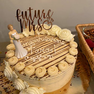Cake at Salus Hydrate Private Party