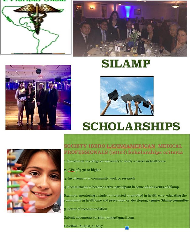 SILAMP Health Gala Event for medical scholarships