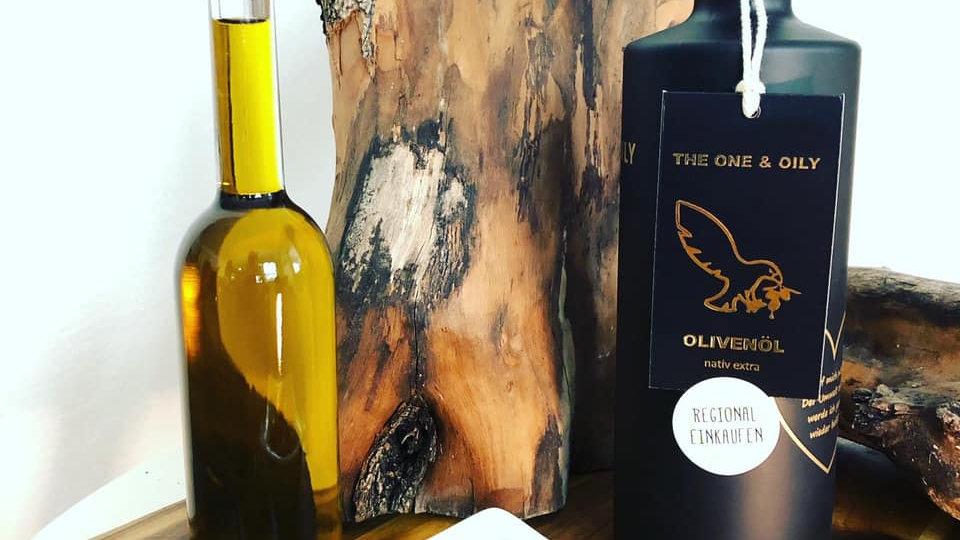BIO Olivenöl kaltgepresst / extra vergine 0,7 Liter