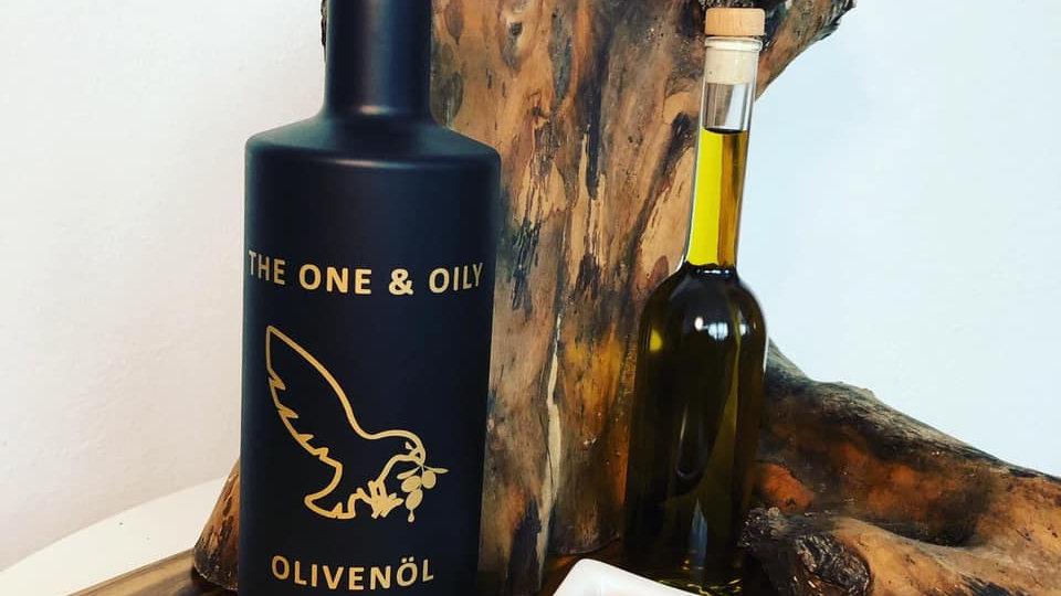 BIO Olivenöl kaltgepresst / extra vergine 0,7 Liter Wiederbefüllung