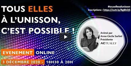 Webinar du réseau de femmes « Les Elles