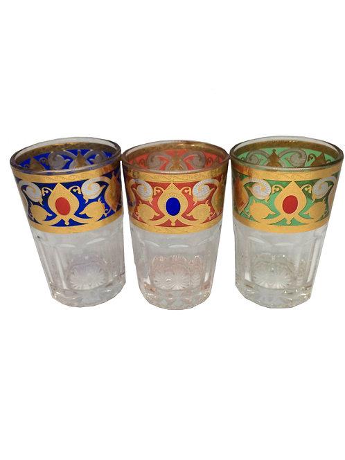 verres de thé-verres marocains-verres beldi marocains-verres de thé marocains | originaldumaroc.ch