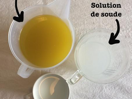 La fabrication des savons en images