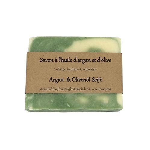 Argan- und Olivenöl-Seife