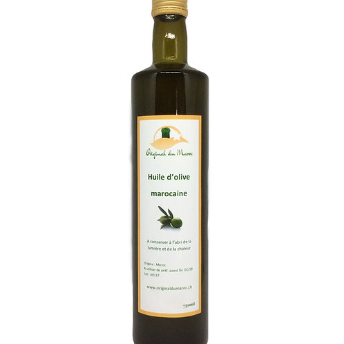Huile d'olive extra vierge 750ml