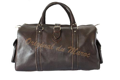 Sac de voyage-sac de voyage en cuir-Cuir-cuir marocain- cuir du maroc- artisanat marocain | originaldumaroc.ch