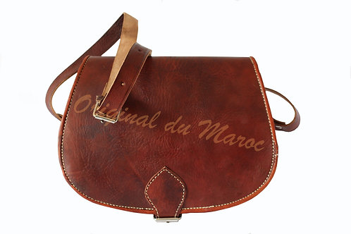 Sac à bandoulière-Sac à bandoulière en cuir-Cuir-Sac bandoulière marocain - cuir marocain-cuir maroc | originaldumaroc.ch