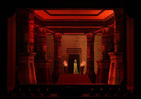 Die letzten Takte in unserer Aida-Inszenierung