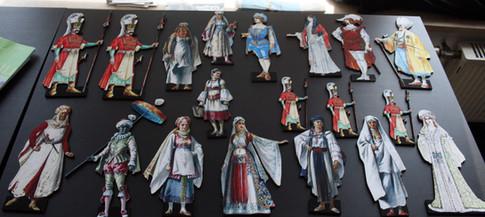 Mozart - Entführung, Figurinen 1