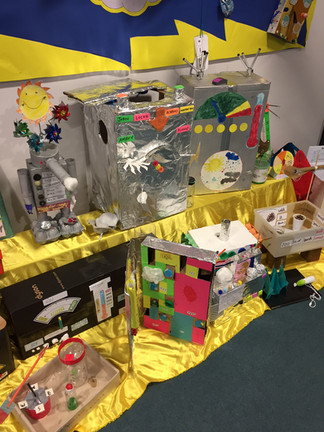 Weather station by year 1