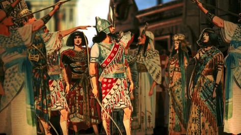 Papiertheater-Aida - TRIUMPHZUG