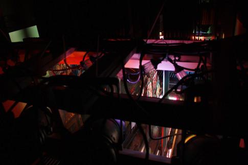 Das Schlussbild aus unserer Papiertheater-Zauberflöte